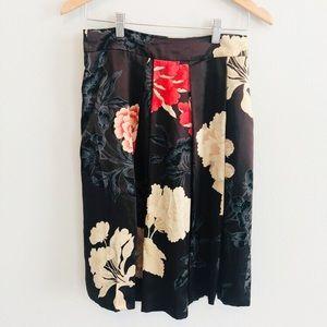 Hugo Boss Black Floral Skirt | Sz 2